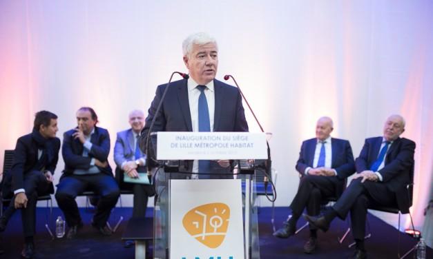 Inauguration siège LMH à Tourcoing