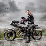 Portrait d'un motard
